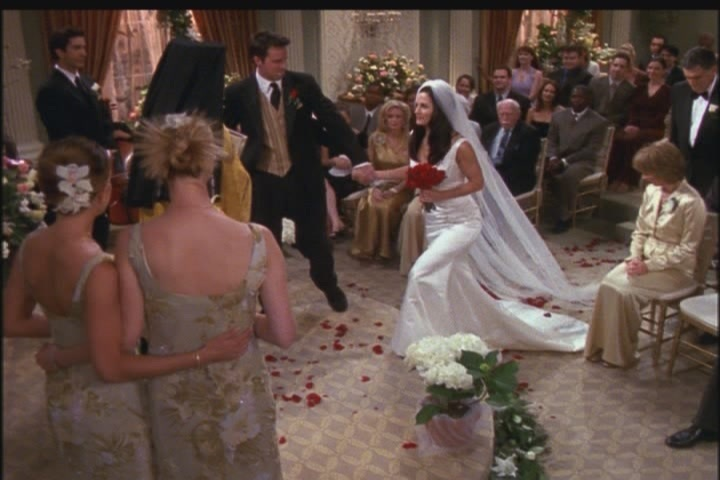 7.23 - TOW Monica and Chandler's wedding