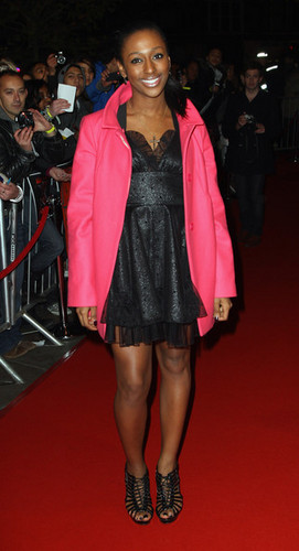 Alex visits her home - alexandra-burke Photo