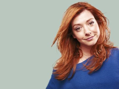 Buffy the Vampire Slayer wallpaper containing a portrait called Alyson Hannigan