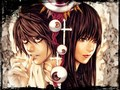Amane_and_L - death-note wallpaper