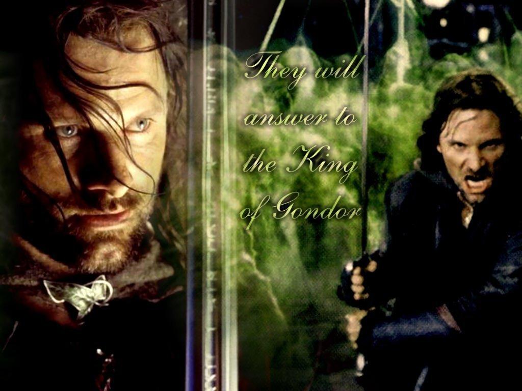 Aragorn Lord Of The Rings Wallpaper 3059877 Fanpop