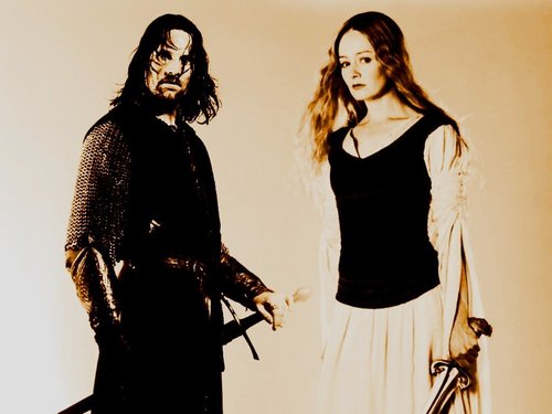 Aragron and Eowyn