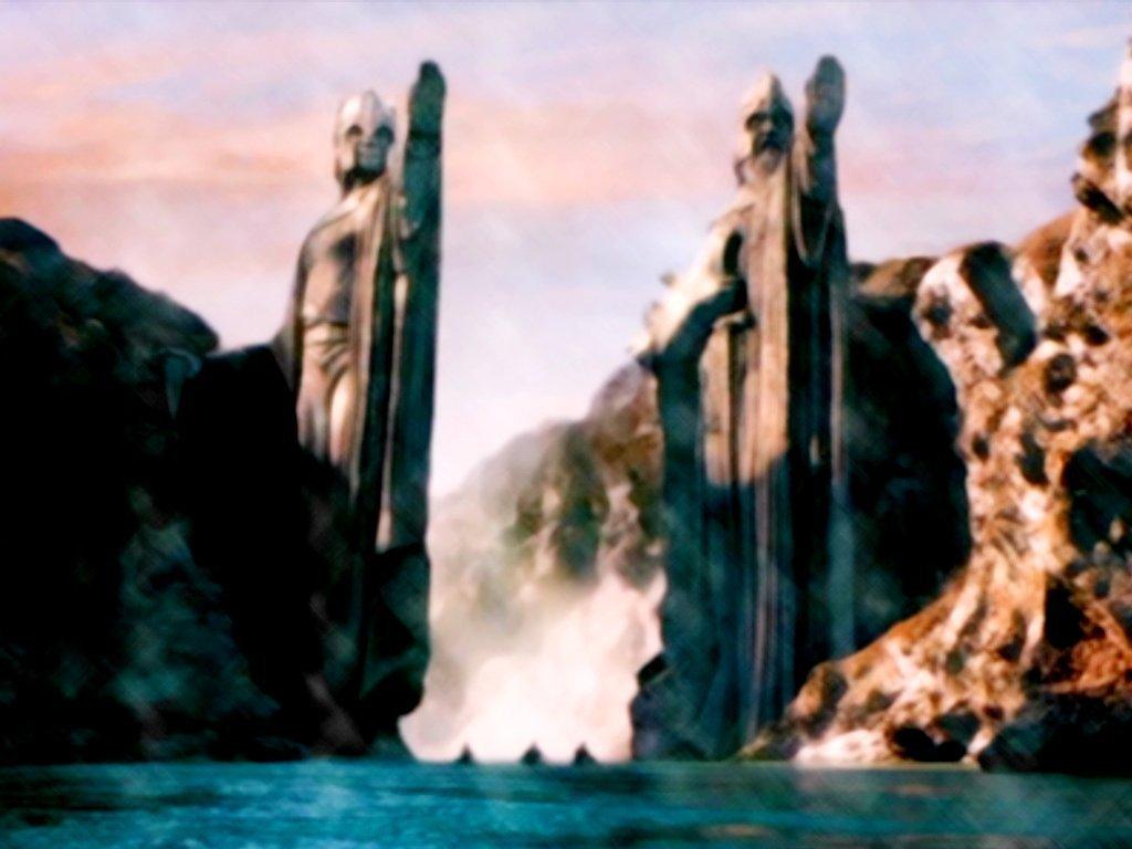 Argonath Le Seigneur Des Anneaux Fond Décran 3067536