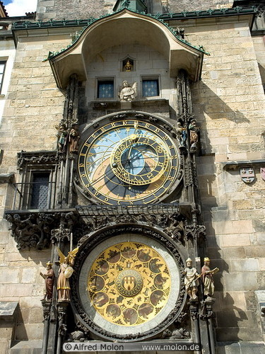 Astronomical clock and calendar