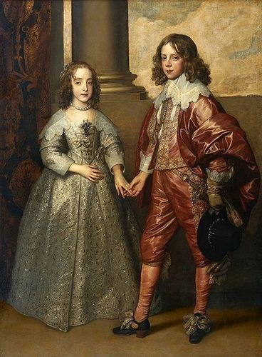 Kings and Queens wallpaper probably containing a polonaise called Betrothal Painting of William and Mary