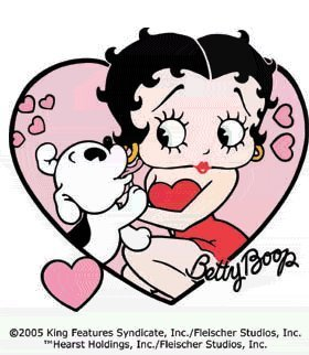 Betty Boop wallpaper possibly containing a venn diagram and anime entitled Betty Boop