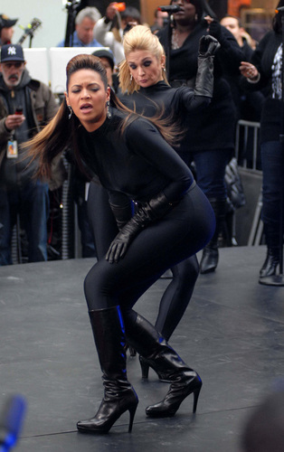 Beyoncé on The Today montrer