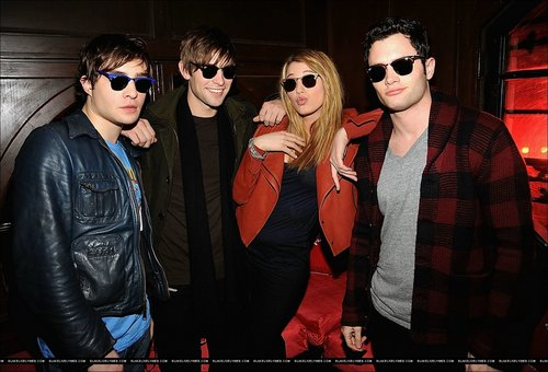 Blake, Penn, Ed, Chace at Ray-Ban Remasters at Bowery Ballroom