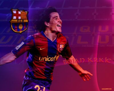 Bojan Krkic Barcelona