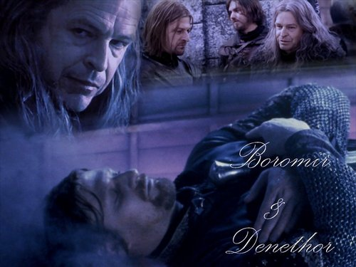 Boromir and Denethor