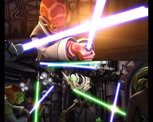 ster Wars: Clone Wars achtergrond entitled CLONE WARS Episode 10 Lair of Grievous