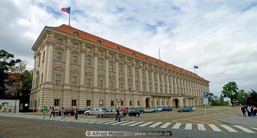 Cernin palace and Loreta square