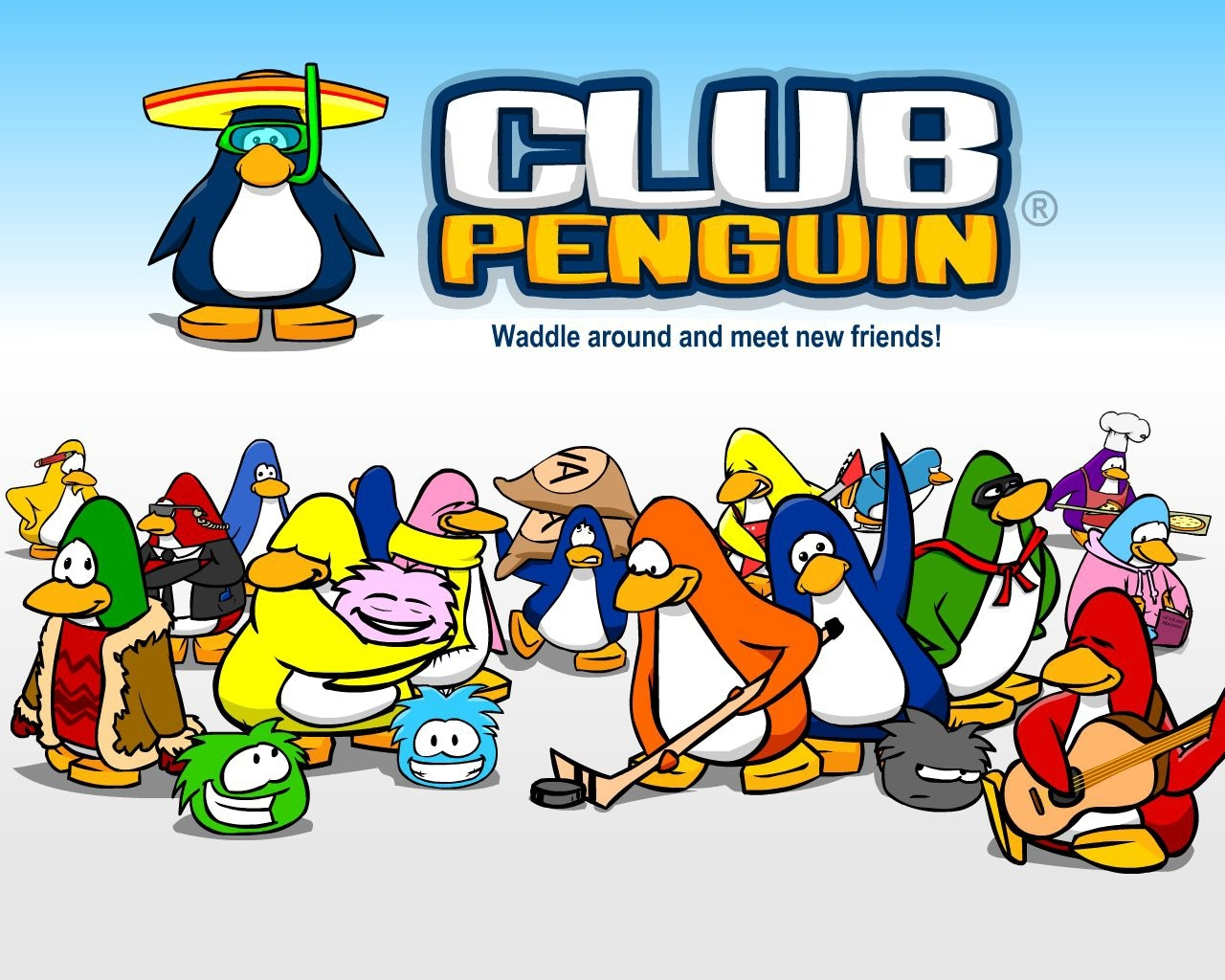 Club Penguin Club Penguin Wallpaper