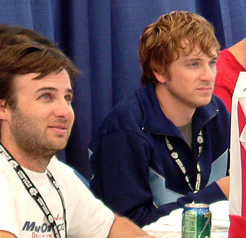 Danny Strong and Tom Lenk