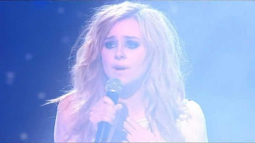 Diana Vickers wallpaper probably containing a portrait titled Diana At X Factor Final