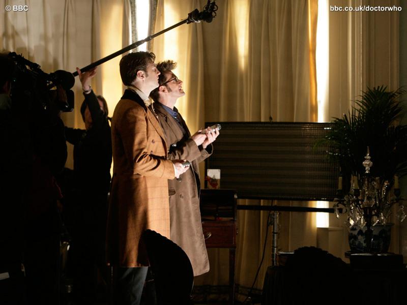 Doctor Who Christmas Special Photos (ADVENT CALENDAR)