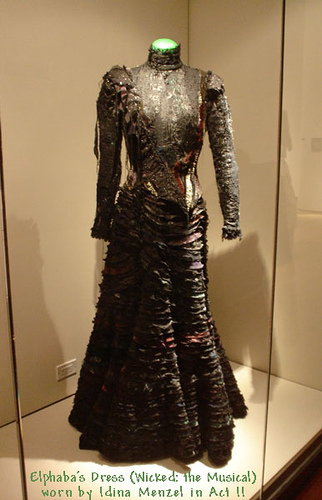 Elphaba's dress - wicked Photo