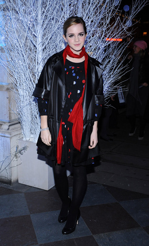 Emma at an Ice Rink opening