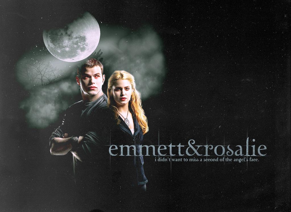 Emmett Cullen And Rosalie Hale Cullen Emmett And Rosalie