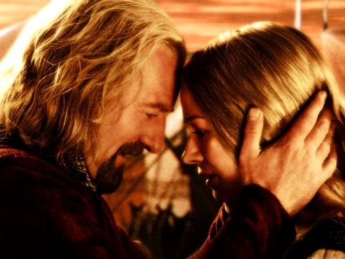 Eowyn and Theoden