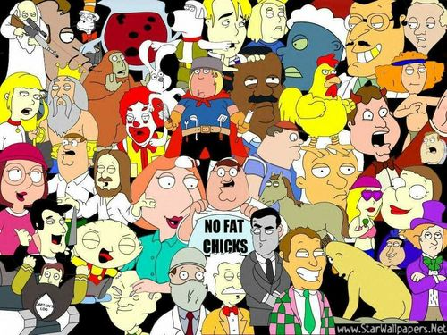 uma familia da pesada wallpaper entitled Family Guy wallpaper