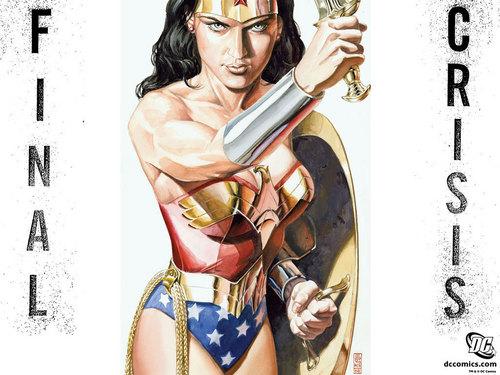 Final Crisis #5 Wonder Woman