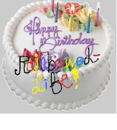 Happy Birthday RainbowedLife