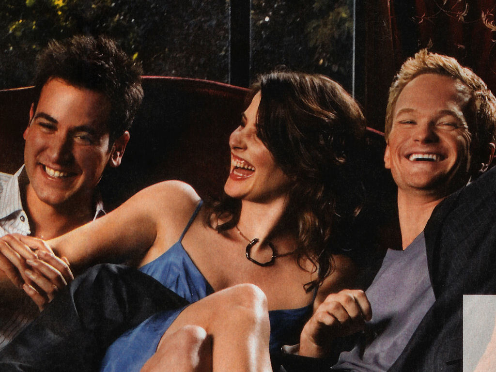 How I Met Your Mother Ted, Robin & Barney