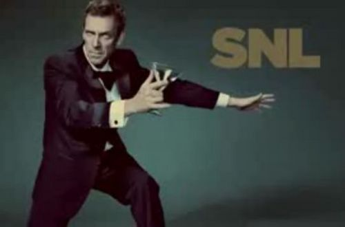 Saturday Night Live wallpaper containing a well dressed person and a hip boot entitled Hugh Laurie