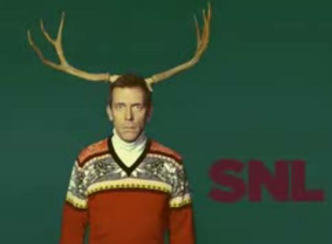 Saturday Night Live wallpaper possibly containing a surcoat titled Hugh Laurie