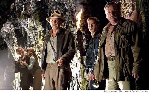 Indiana Jones and Marion Ravenwood