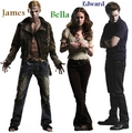 James, Bella, & Edward - twilight-series photo