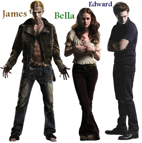 James, Bella, & Edward