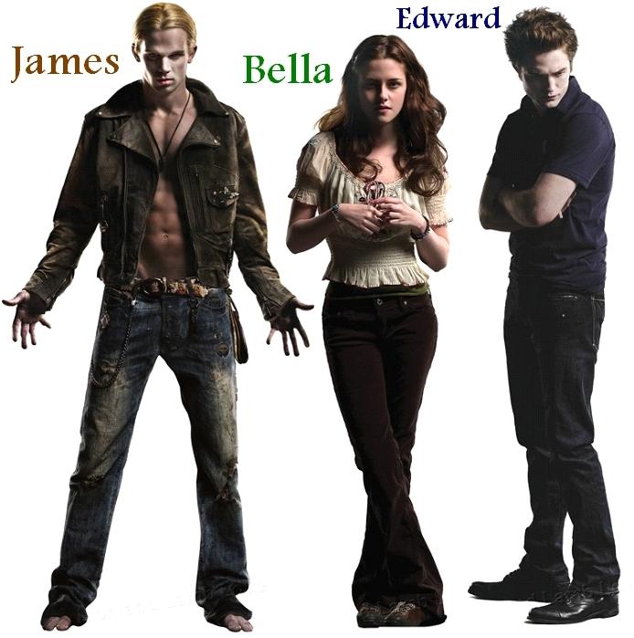 James, Bella, & Edward