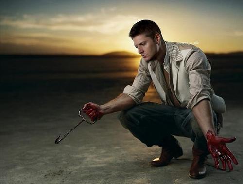 Jensen as tom - my bloody valentine 3D