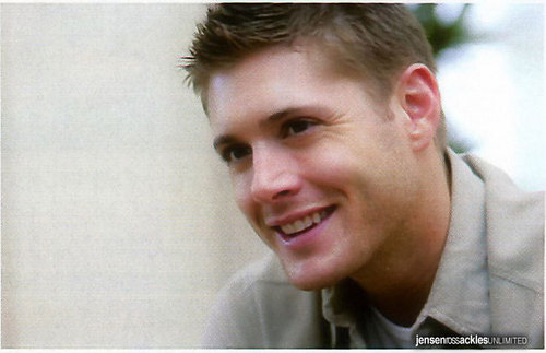 Jensen Ackles wallpaper probably containing a portrait entitled Jensen's photoshoot