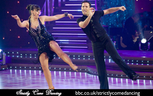 Strictly Come Dancing wallpaper probably with a concert called Jill and Darren-Jive