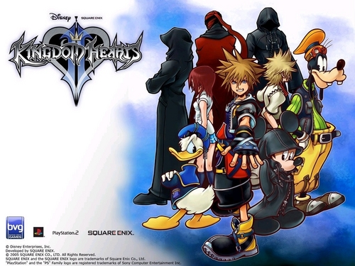 Kingdom Hearts 2 fond d'écran probably with animé titled Kingdom Hearts 2