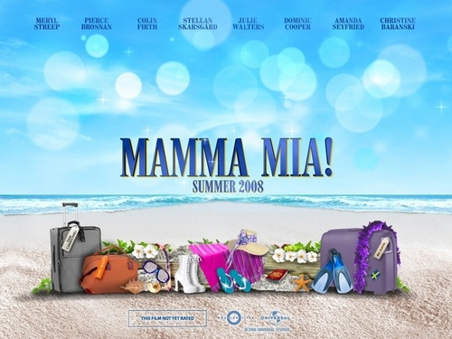 Mamma Mia Movie Poster.
