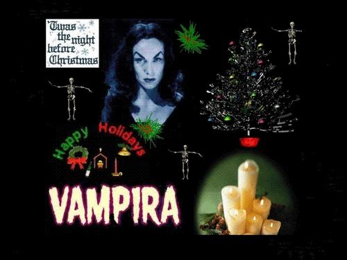 Merry 크리스마스 From Vampira!