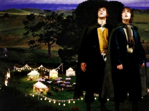 Merry and Pippin - lord-of-the-rings Wallpaper