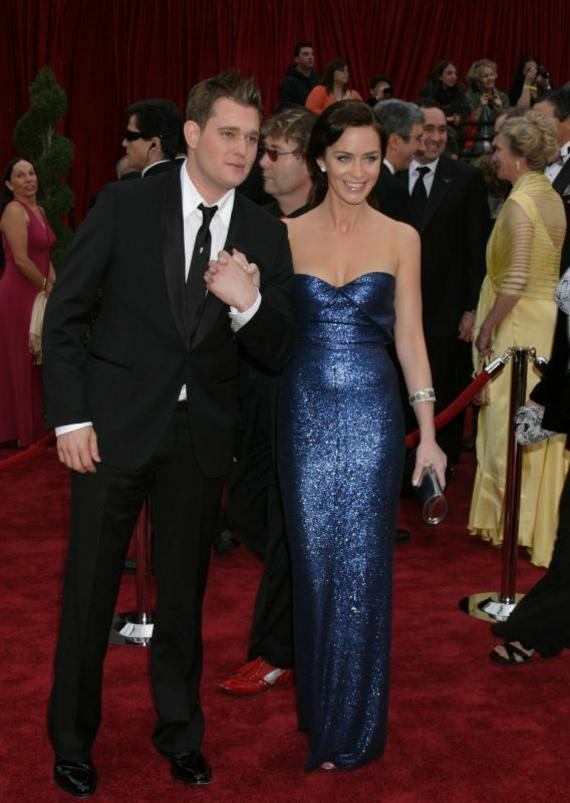 Michael Buble Emily Blunt Michael Buble and Emily Blunt
