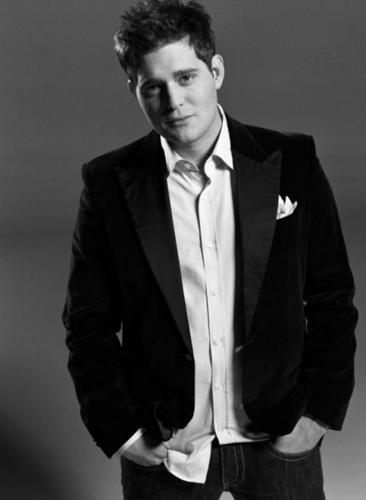 Michael Bublé Hintergrund with a business suit, a suit, and a two piece titled Michael Buble