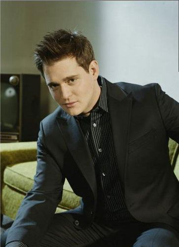 Michael Bublé Hintergrund with a business suit, a suit, and a well dressed person entitled Michael Buble