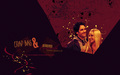 Mike and Phoebe - friends wallpaper