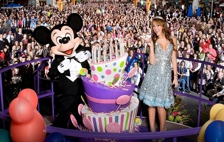 Miley At Her Sweet 16!