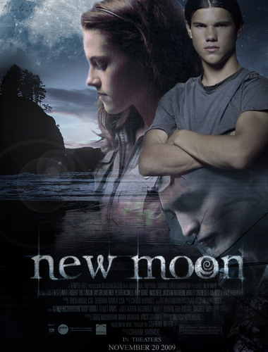 Twilight Series wallpaper containing a sign titled New Moon #2
