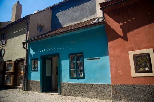 No. 22 Golden Lane, Kafka's Sister's House