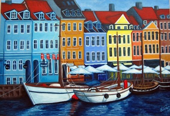 Nyhavn - Colours of Nyhavn