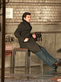 Patrick Dempsey- Behind the Scenes Filming